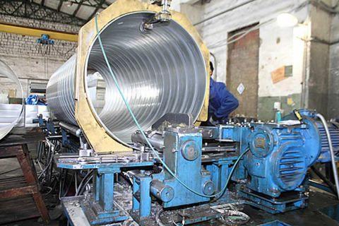 Производство круглых воздуховодов