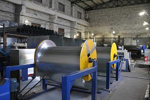 Автоматизированная линия производства прямоугольных воздуховодов